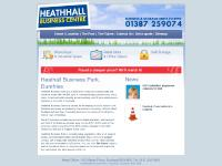 Heathhall Business Park and Industrial Estate, Dumfries, Scotland