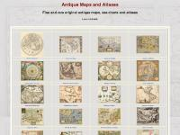 Antique Maps, Old maps, Vintage Maps, Antique Atlases, Old Atlases