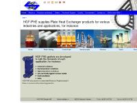 Rubber gaskets for Plate Heat Exchangers from HGF-PHE