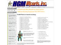 Forklift Parts & Material Handling Equipment Spare/Replacement Parts from HGM. All Brands/Makes/Models ready to ship. RFQ & Purchase Online, or call for help finding your part: Crown | Hyster | Toyota | Nissan | Raymond | Yale | Barrett | Clark | Caterpil