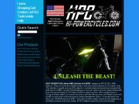 liten hi-powercycles.com skärmbild