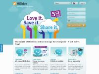 HiDrive 100 GB, HiDrive 500 GB, Backup & Security