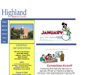 highlandbaptist.org PARENTS DAY OUT , STUDENT WEB PAGES, HIGHLAND INSTITUTE OF MUSIC