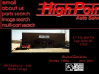 highpointautosalvage - Welcome to High Point Auto Salvage