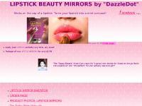 Lipstick Beauty mirrors
