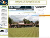 hinckleybowlingclub.co.uk Hinckley, Bowling Club, Bowls