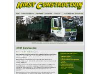 Hirst Construction providing construction services in Cornwall and Devon