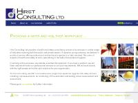 Hirst Consulting Ltd. | Providing a safer and healthier workplace ...