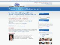 Hutchinson Mortgage Recruiting - Home Page