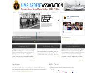 hmsardent.org.uk HMS Ardent Association, Our President, Our Falklands War Timeline