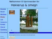 Forside for Hokkerup & omegns hjemmeside