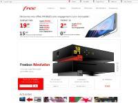 Freebox, la meilleure offre ADSL: Internet, Téléphone, Télévision