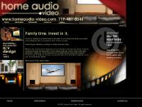 homeaudio-video.com colorado springs home theater, HDTV, home audio video