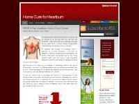 homecureforheartburn.com