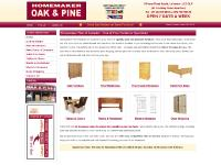 Oak Furniture Leicester | Pine Furniture Leicester | Homemaker Pine of Leicester