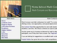 homeschoolmathcontests.com homeschool math, regional math contests, math contests