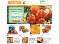 honeybell.com baskets, fresh fruit gift baskets, Florida oranges
