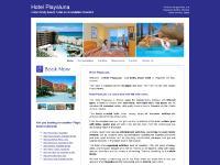 Hotel PlayaLuna has family accommodation next to the beach in Roquetas de Mar Costa Almeria Spain
