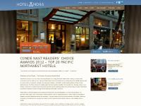 Seattle Downtown Boutique Hotels | Hotel Ändra | Seattle, WA
