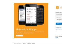 hotmail - Sign In