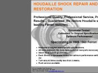 HOUDAILLE SHOCK REPAIR AND RESTORATION