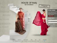 houseofraaj.com Indian designer sari, 22 kt gold, Bridal sari