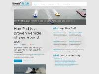 Hovercraft For Sale - Buy Hov Pod Hovercraft Here