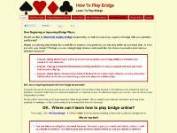 Home « How To Play Bridge
