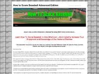 How To Score Baseball Advanced Edition - How To Keep Score in BaseballHow to Score Baseball Advanced Edition | Learn to Score a Baseball Game