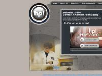 HPI Contract Chemical Formulating