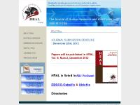 hraljournal.com ABI/ ProQuest, EBSCO, Cabell's