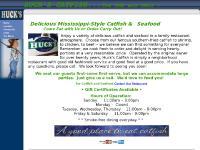 huckscatfish.com Location, Links, web design