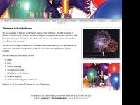 hullaballoons.co.uk Balloons,Fireworks,Firework displays