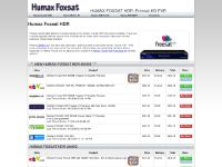 Humax Foxsat HDR | freesat PVR | Digital HD recorder from Humax Foxsat