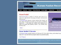 Humax Foxsat Home