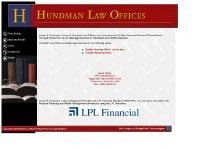 hundmanlaw.com James Hundman Law Offices legal services estate planning probate financial investment insurance products