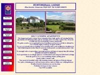 Huntingball Lodge in Blue Anchor, Exmoor, West Somerset, Self catering accommodation.