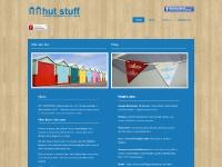hutstuff.org.uk logo, Beach Huts in Hove, Wooden Bunting