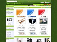 hydroponicgarden.net Hydroponic Systems, Hydroponic Tent & Grow Rooms, Hydroponic Grow Kits