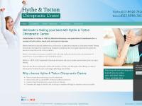 hythechiropracticcentre.co.uk