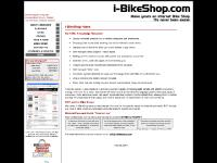 """i-BikeShop Home :: i-BikeShop. The only online bicycle retail """"off the shelf"""""""