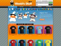i-merchandiser.co.uk Weebls Stuff shop, Clothing, Toys