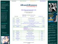 iBankBonus: Bonuses from US banks for nationwide deposit accounts