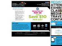 ibslasvegas.com FAQs & Pricing, Exhibitor List, Nail Competitions