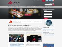 icsc.org First time logging in?, What Can ICSC Do for You?, Volunteer / Get Involved