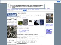Internet Center for Wildlife Damage Management for animal damage control