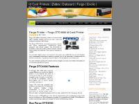 Fargo, Magicard, Links, Single Sided Printing