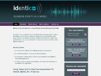 identico.co.uk identity management voice biometrics security unified communications