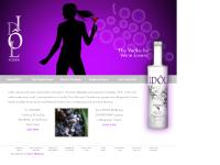 Idol French Vodka from Pinot Noir and Chardonnay Grapes, Burgundy France