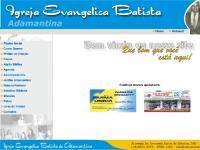 Igreja Evangélica Batista de Adamantina(SP)
